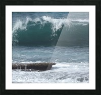 Breaking Wave Picture Frame print