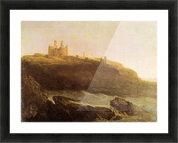 Dunstanborough Castle by Joseph Mallord Turner Picture Frame print