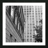 Winston Salem 90 Picture Frame print