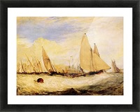 East Cowes Castle, Regatta by Joseph Mallord Turner Picture Frame print