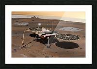 Phoenix Mars Lander Picture Frame print