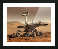 Artists Rendition of Mars Rover. Picture Frame print