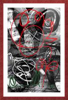Bad Rose Picture Frame print