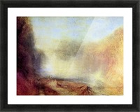 Falls of the Clyde by Joseph Mallord Turner Picture Frame print