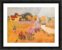 Farmhouse in Provence by Van Gogh Picture Frame print