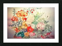 Bouquet of 10000 Colors Picture Frame print