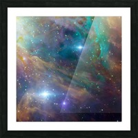 Deep Space Picture Frame print