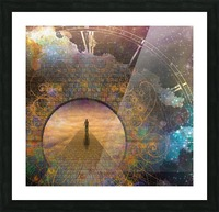 Eternal Journey Picture Frame print