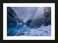 Lake Louise blues Picture Frame print