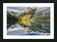 Upper elk lake  Picture Frame print