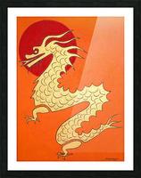 Asian Dragon Icon No.1 Picture Frame print