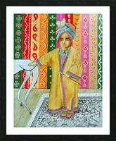 Mini Maharajah Picture Frame print