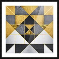 Geometric XXIV Picture Frame print