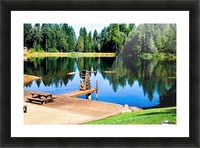 Saturated Scene Picture Frame print