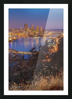 Light Up Night - AP 3190 Picture Frame print
