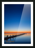 Sunset - APC-129 Picture Frame print