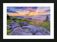 Sunrise - AP 3790 Picture Frame print