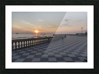 Tramonto a Livorno Picture Frame print