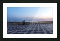 Sunset in Livorno - Piazza Mascagni Picture Frame print
