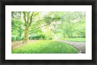 Park View Picture Frame print
