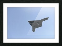 An X-47B unmanned combat air system in flight. Picture Frame print