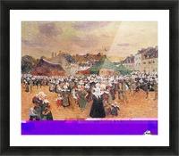 The Fair Festival Picture Frame print