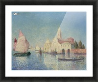 The Belfry of Croisic Picture Frame print