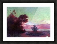 The Seashore at Twilight Picture Frame print