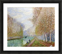 Effect of Autumn Picture Frame print