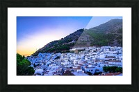 Sunset in Mijas Picture Frame print