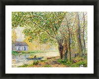 Moret-sur-Loing Picture Frame print