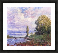 Banks of the Loing Picture Frame print