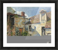The Farmyard, Moret Picture Frame print