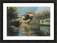 Riverscape Picture Frame print