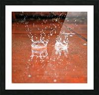 Rain Picture Frame print