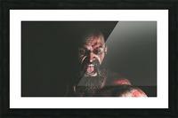 Hidden Beneath | God of War Picture Frame print