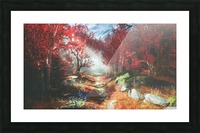 Witches Heart | God of War Picture Frame print
