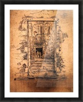 Garden by Whistler Picture Frame print