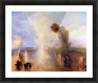 Girls bathing in moonlight by Joseph Mallord Turner Picture Frame print