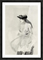 Good intentions by Felicien Rops Picture Frame print