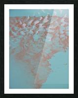 VAPOR 2 Picture Frame print
