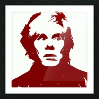 Andy Warhol Picture Frame print