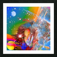 Cosmic Dream Picture Frame print