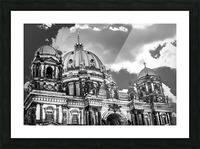 Berliner Dom Picture Frame print