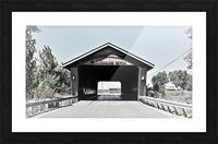 Blanchard Covered Bridge Picture Frame print