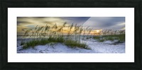 Sunset over Holmes Beach Picture Frame print