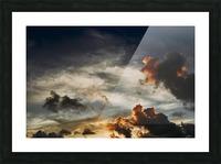 Lanikai Sunrise Picture Frame print