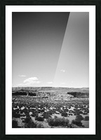 Saguaro Golden Hours Picture Frame print