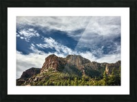 Southwest Sky Picture Frame print
