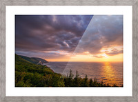 The Endless Sun Picture Frame print